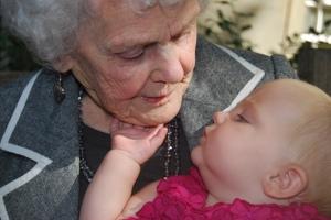 Eva Meets Great Gran