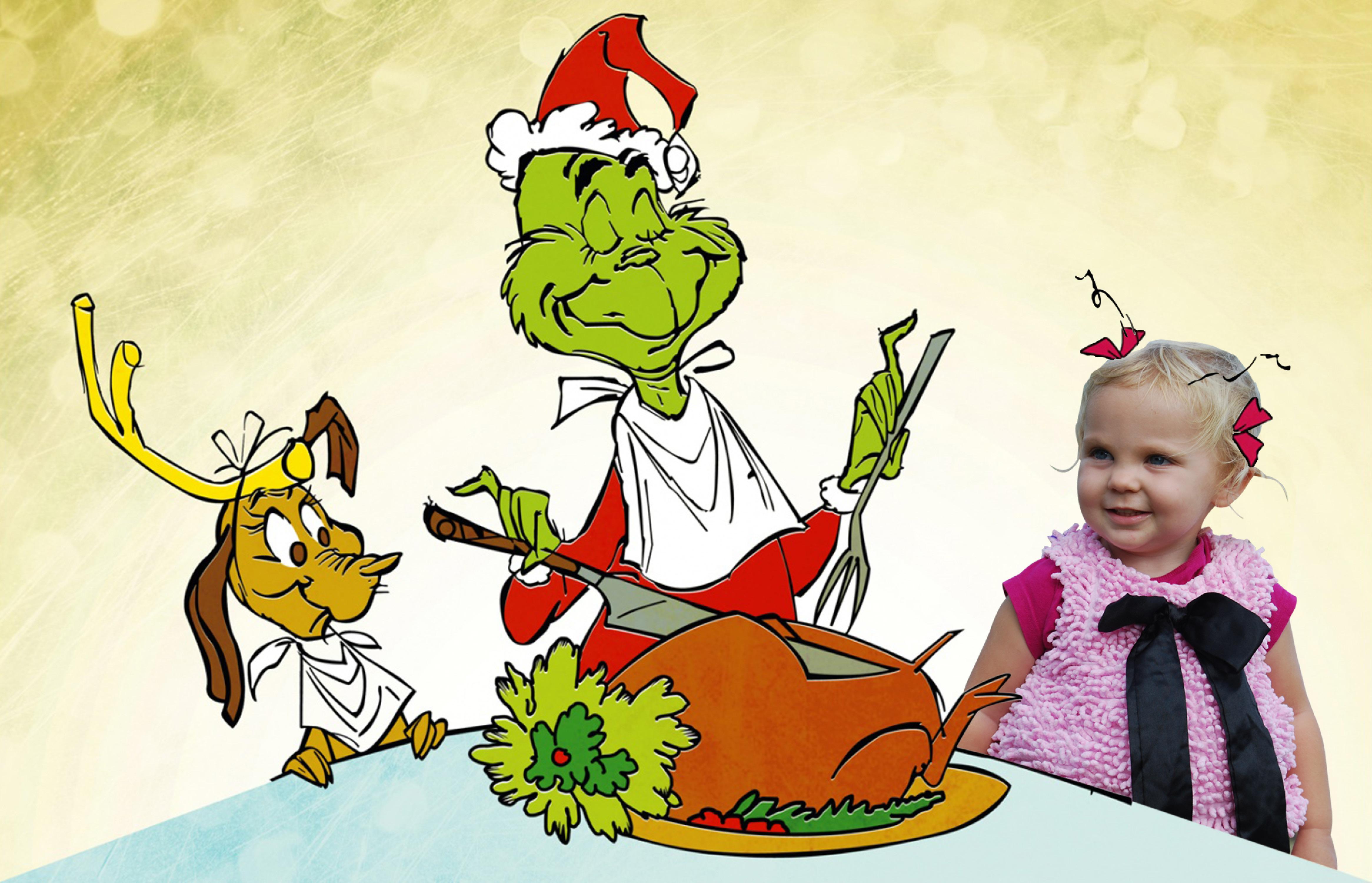 Grinch Stole Christmas Eva