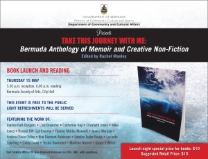 MEMOIR LAUNCH FLYER